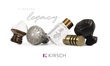 Kirsch Announces the Launch of Its New Custom Drapery Hardware Website