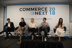 CommerceNext 2018 Panel: Marketing Playbooks for All Sizes (J. Crew, Away, QVC, Forerunner Ventures)