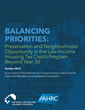 New Report on Preservation and Neighborhood Opportunity in the Low-Income Housing Tax Credit Program