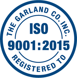 Garland has achieved ISO 9001:2015 certification, a vote of confidence for the organization's continuous improvement and dedication to customer satisfaction