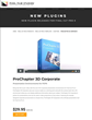 Developers at Pixel Film Studios Release ProChapter 3D Corporate for Final Cut Pro X.