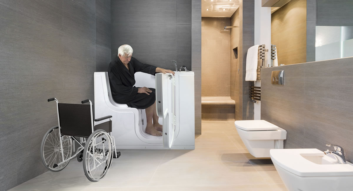 why the pros outweigh the cons when it comes to buying a walk in bathtub. Black Bedroom Furniture Sets. Home Design Ideas