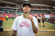 Monster Energy's Nyjah Huston Takes Gold in Skateboard Street at X Games Sydney 2018