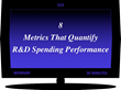 Bring Innovation ROI to Wall Street with 8 R&D Spending Performance Metrics that tie initial program monies to stock price and market cap - December 6, 2018 @ 2 PM EST.