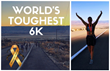 'Stronger by Sharing' Founder Takes on 'Toughest 6K in the World' Raising Awareness for Sharing Stories and Overcoming Life Circumstances