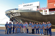 Crowley Team Honored for Work on Company's New LNG-Powered ConRo Ships with Safety at Sea Award