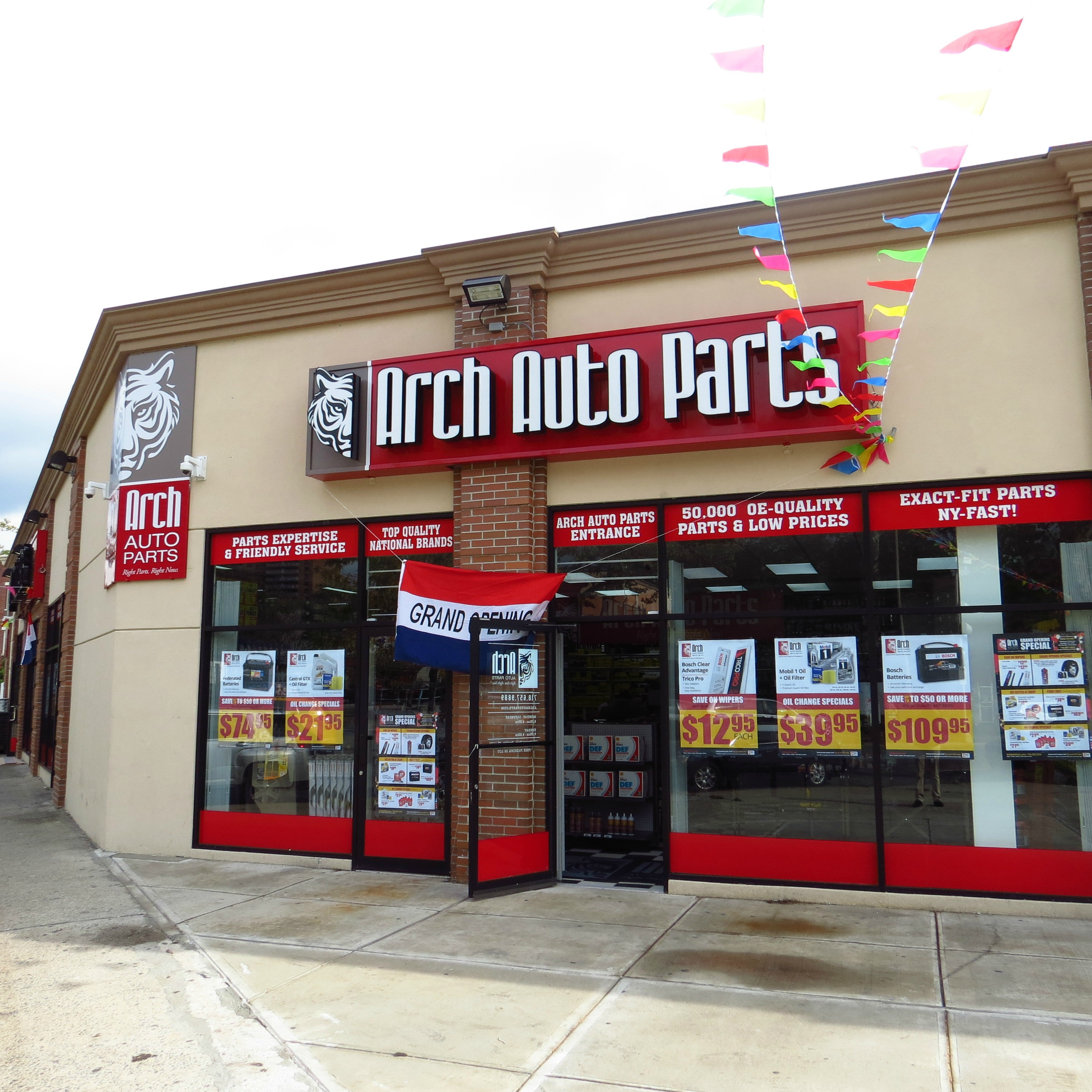arch auto parts opens 13th store in brooklyn extends network of trusted ny stores for highest. Black Bedroom Furniture Sets. Home Design Ideas