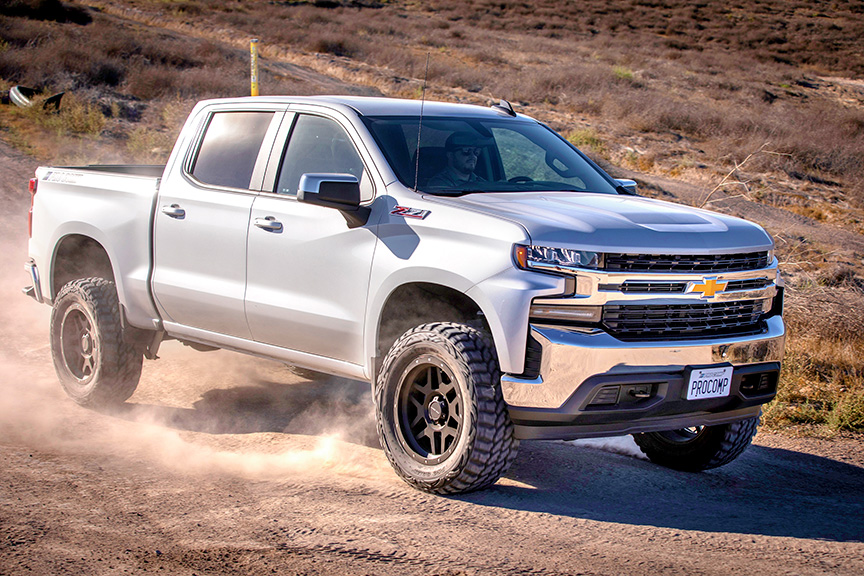 pro comp s 6 inch suspension kit for the all new 2019 chevy silverado gmc sierra 4wd
