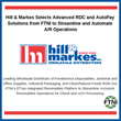 Hill & Markes Selects Advanced RDC and AutoPay Solutions from FTNI to Streamline and Automate A/R Operations