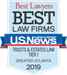 Morgan and DiSalvo, P.C., Achieves Highest Metro Tier 1 Ranking from U.S. News & World Report - Best Lawyers for Seventh Consecutive Year
