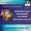 Anahata Ananda Invited to Your Deepest Fulfillment Summit with Julia Mikk
