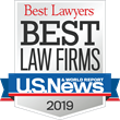 "U.S. News - Best Lawyers Awards Harris Personal Injury Lawyers, Inc. with 2019 ""Best Law Firms"""