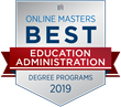 OnlineMasters.com Names Top Master's In Education Administration for 2019