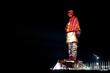 Christie Crimson Series Laser Projectors Light up the Statue of Unity – the Tallest Statue in the World