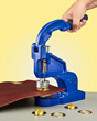 METALgrommets.com New ClipsShop®  CSTEP-2 Metal Grommet Hand Press Creates 1,200 lbs. of Attachment Force