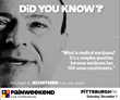 PAINWeekEnd in Pittsburgh, Pennsylvania, Offers CE/CME Education to Address the Opioid Abuse Public Health Crisis