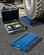 The New Alliance Load Ranger Wireless Wheel Pad Scale Provides Load Compliance On Site