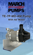 Magnetic Drive Pump Manufacturer, March Pump, Announces Release of New Air Motor Pump