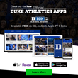 Duke Athletics Apps