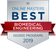 OnlineMasters.com Names Top Master's in Biomedical Engineering Programs for 2019