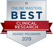 OnlineMasters.com Names Top Master's in Clinical Research Programs for 2019