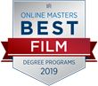 OnlineMasters.com Names Top Master's in Film Programs for 2019