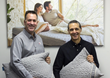 Scott Smalling Relief Bed Founder with Brian Baxter VP Business Development at Brentwood Home