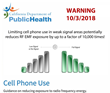 Children Exposed to 10,000 Times More Cell Phone Radiation When Phone Has Weak Tower Connection