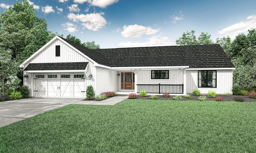 Wayne Homes Introduces New Ranch Floor Plan, The Hanover