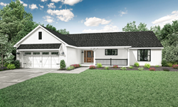 Wayne Homes Introduces New Ranch Floor Plan, the Hanover on ranch style house plans with open floor plan, new ranch home style, new ranch home construction, new construction home floor plan, new ranch house plans,