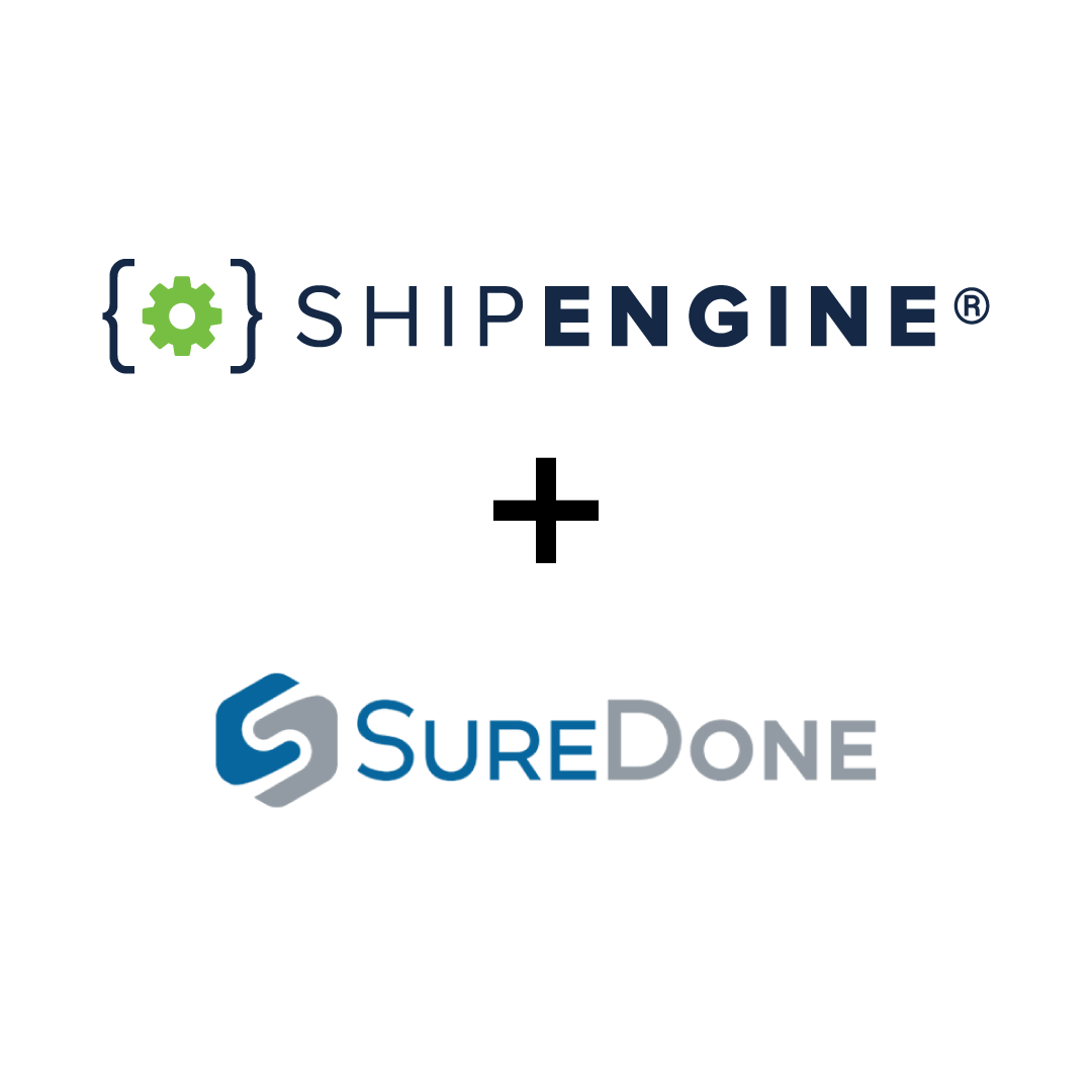 ShipEngine® Partners with SureDone to Expand Platform's Shipping
