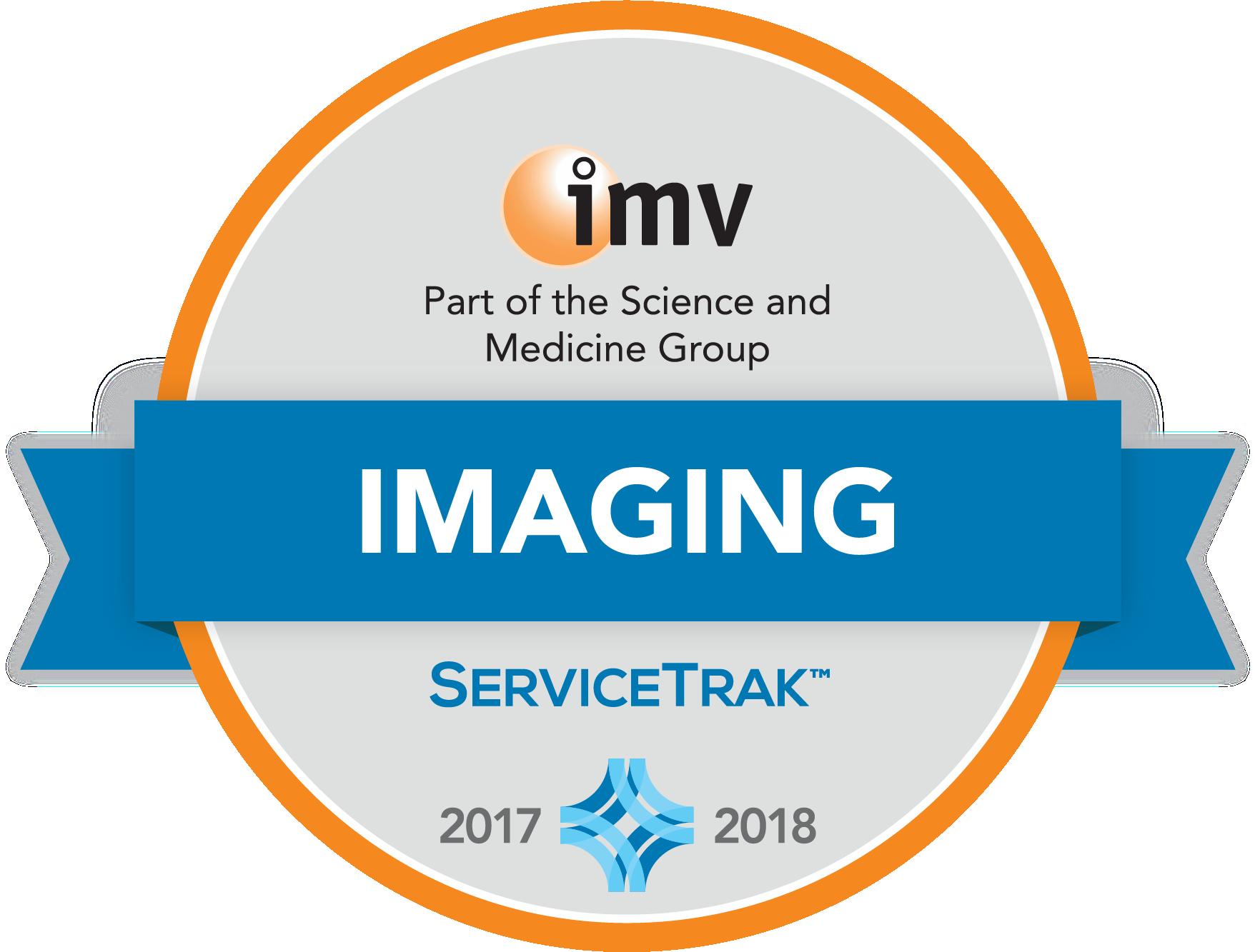 Imv Servicetrak Awards For Diagnostic Imaging Equipment