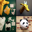 Resident Design Announces its Holiday DIY Paper Animal Kit Line
