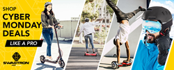 best cyber monday sales on electric scooters, hoverboards