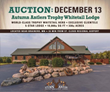 Trophy Whitetail Hunting Lodge & Preserve Hits the Auction Block