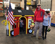 Security Engineered Machinery Builds Playhouse for Veteran Family