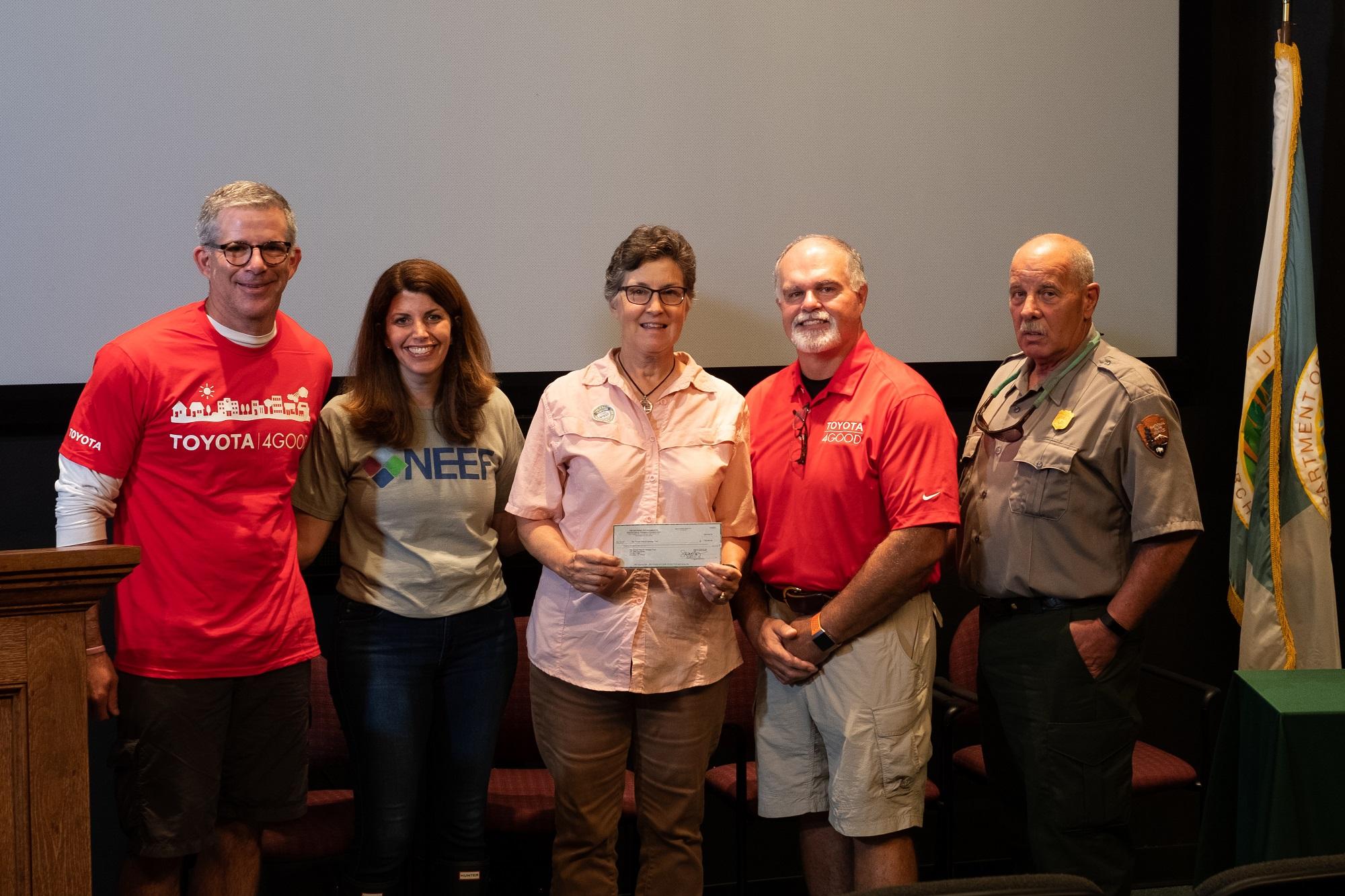 National Environmental Education Foundation and Toyota Award