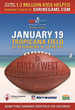 94th East-West Shrine Game Tickets On Sale Now