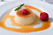 Extremely popular Brazilian specialty flan – creamy custard topped with caramel