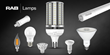 RAB Lighting Launches a Distributor Friendly Portfolio of LED Lamps