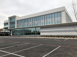 Apache Corporation's new regional office and amenity building