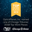 OpticsPlanet, Inc. Named a Top Workplace by the Chicago Tribune for 2018