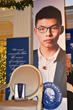 Joshua Wong's Lantos Prize Award Hangs on His Empty Chair