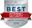 OnlineMasters.com Names Top Master's in Internet Security Programs for 2019
