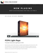 Pixel Film Studios launches FCPX Light Rays for Final Cut Pro X