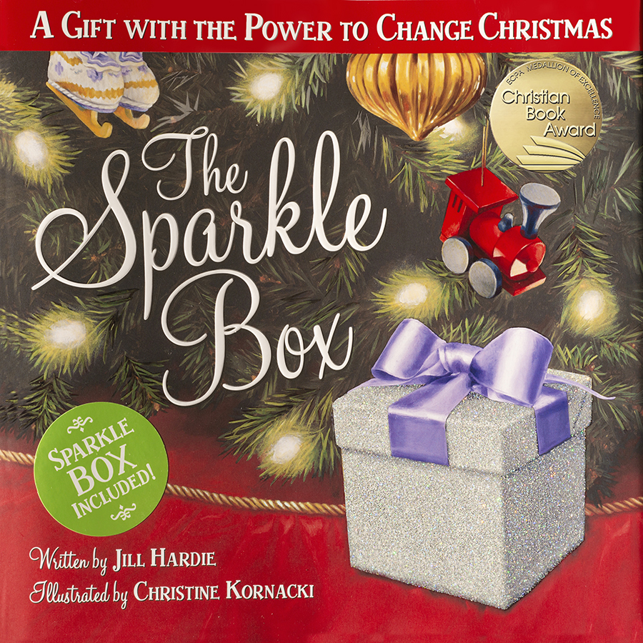 Christmas Counter.The Sparkle Box Children S Book Prompts Viral Movement To