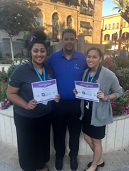 Las Vegas-based associates Alana Ulrich and Teuila To'o were each honored by the Las Vegas Metro Chamber of Commerce and the Las Vegas Convention and Visitors Authority.