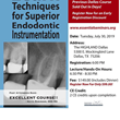Endodontic Hands-On Dental Seminar Returns to Dallas for One 2019 Date