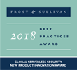 Protego Labs Awarded Frost & Sullivan's 2018 Global Serverless Security New Product Innovation Award