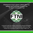 FTNI Named to Food Logistics' 2018 FL100+ Top Software and Technology Providers List for Fourth Consecutive Year